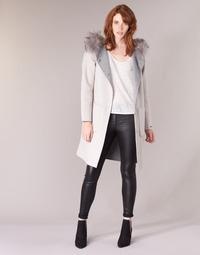 textil Mujer Abrigos Oakwood YALE BI Beige / Gris