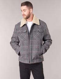 textil Hombre Abrigos Benetton MADRILA Gris