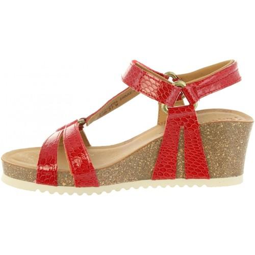 Gran descuento Zapatos B1 especiales Panama Jack VIOLETTA SNAKE CHAROL B1 Zapatos Rojo 7179d8