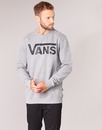 textil Hombre sudaderas Vans VANS CLASSIC CREW Gris