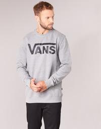 textil Hombre Sudaderas Vans VANS CLASSIC CREW Gris