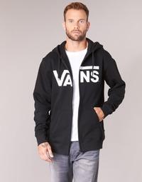 textil Hombre sudaderas Vans VANS CLASSIC ZIP HOODIE Negro