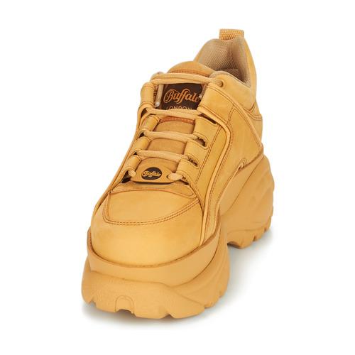 Mujer Noumera Zapatillas Bajas Zapatos Buffalo Camel FKJ1lcT3