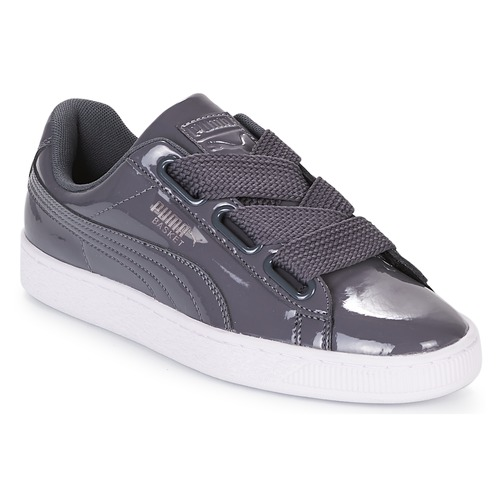 Zapatos promocionales Puma WN BASKET HEART PATENT.IRO Hierro  Cómodo y bien parecido