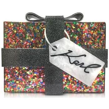 Bolsos Mujer Bolsos Karl Lagerfeld Clutch regalo Negro