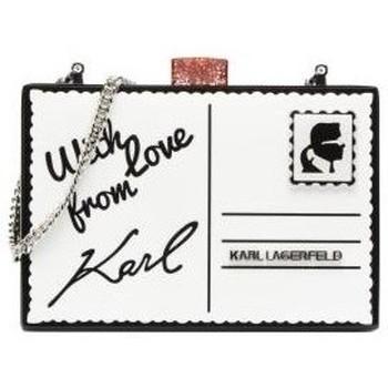 Bolsos Mujer Bolsos Karl Lagerfeld Clutch sobre Negro