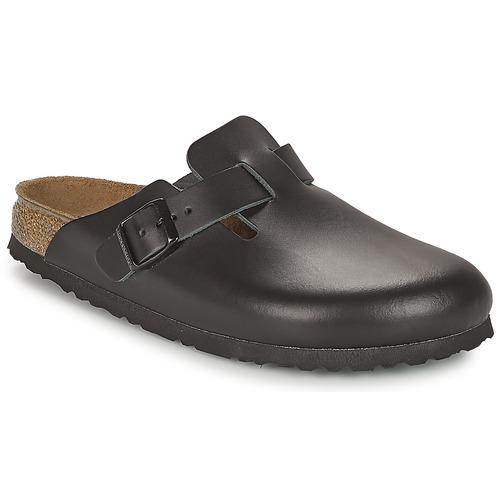 Zapatos Zuecos (Clogs) Birkenstock BOSTON Negro