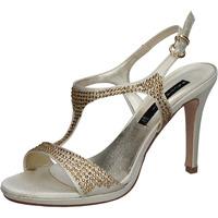 Zapatos Mujer Sandalias Bacta De Toi sandalias platino satén strass BY95 otros