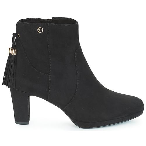 Tamaris Maura Negro Zapatos Mujer Botines EDWYH2I9