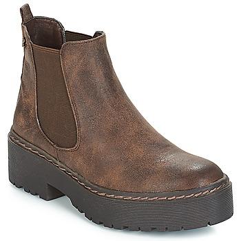 Zapatos Mujer Botas de caña baja Refresh SOBAO Marrón