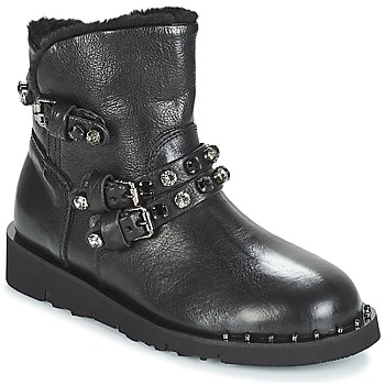 Zapatos Mujer Botas de caña baja Mimmu MALONN Negro