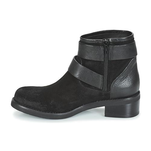 Mujer Botas De Mylann Caña Mimmu Baja Zapatos Negro F1cTlJK3