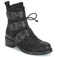 Zapatos Mujer Botas de caña baja Mimmu MOEZ Negro