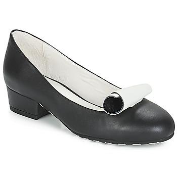 Zapatos Mujer Bailarinas-manoletinas Lola Ramona ALICE Negro / Blanco