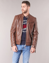 textil Hombre Chaquetas de cuero / Polipiel Redskins TRUST CASTING Marrón