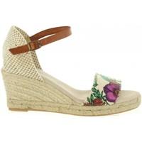 Zapatos Mujer Sandalias Cumbia 31005 Beige