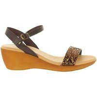 Zapatos Mujer Sandalias Cumbia 31009 Marr?n