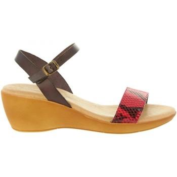 Zapatos Mujer Sandalias Cumbia 31009 Rojo