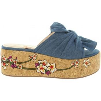 Zapatos Mujer Sandalias Chika 10 ARIZONA 02 Azul