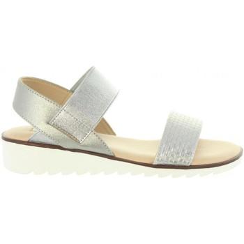Zapatos Mujer Sandalias Chika 10 DULCE 02 Plateado