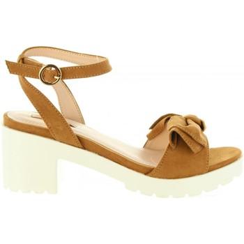 Zapatos Mujer Sandalias Chika 10 FIONA 01 Marrón