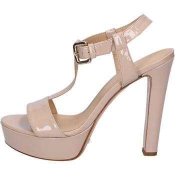 Zapatos Mujer Sandalias Mi Amor sandalias rosado cipria charol BY169 rosado