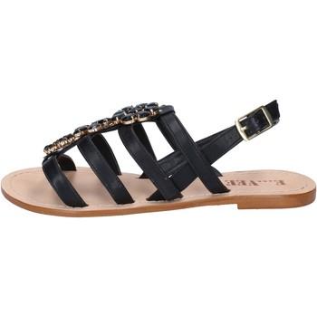 Zapatos Mujer Sandalias E...vee BY184 negro