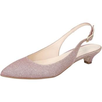 Zapatos Mujer Sandalias Olga Rubini sandalias rosado textil BY275 rosado