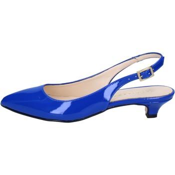 Zapatos Mujer Sandalias Olga Rubini sandalias azul charol BY278 azul