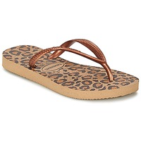 Zapatos Niña Chanclas Havaianas SLIM ANIMALS Bronce