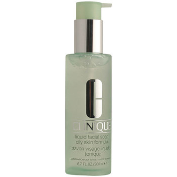 Belleza Desmaquillantes & tónicos Clinique Liquid Facial Soap Oily Skin With Pump  200 ml