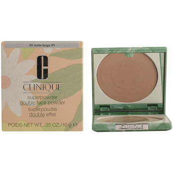 Belleza Mujer Base de maquillaje Clinique Superpowder Double Face 02-matte Beige 10 Gr 10 g