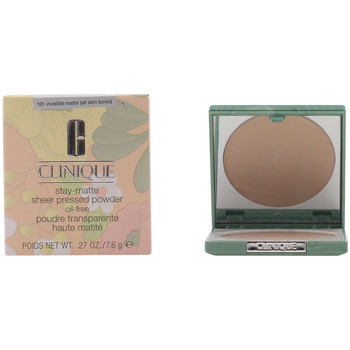 Belleza Mujer Base de maquillaje Clinique Stay Matte Sheer Powder 101-invisible Matte 7.6 Gr 7,6 g