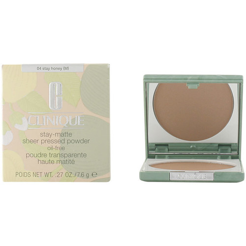 Belleza Mujer Base de maquillaje Clinique Stay Matte Sheer Powder 04-stay Honey 7.6 Gr 7,6 g