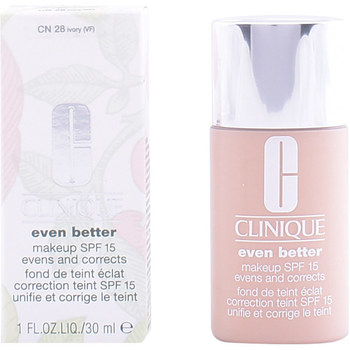Belleza Mujer Base de maquillaje Clinique Even Better Fluid Foundation cn28-ivory  30 ml