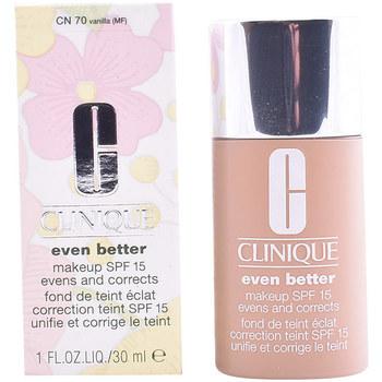 Belleza Mujer Base de maquillaje Clinique Even Better Fluid Foundation 07-vanilla  30 ml