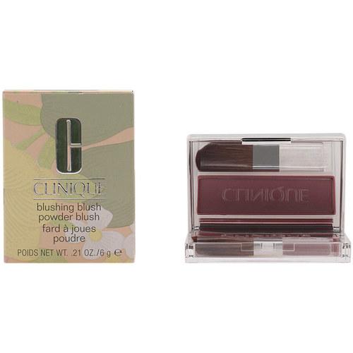 Belleza Mujer Colorete & polvos Clinique Blushing Blush 115-smoldering Plum 6 Gr 6 g