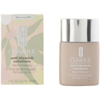 Belleza Mujer Base de maquillaje Clinique Anti-blemish Solutions Liquid Found 02- Fresh Ivory  3