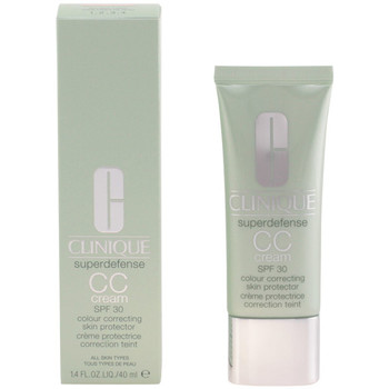 Belleza Mujer Maquillage BB & CC cremas Clinique Superdefense Cc Cream medium Deep  40 ml