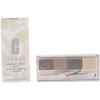 Belleza Mujer Sombra de ojos & bases Clinique All About Shadow Quad 05-on Safari 4.8 Gr 4,8 g