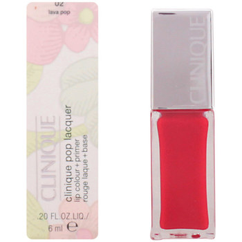 Belleza Mujer Pintalabios Clinique Pop Lacquer Lip Colour + Primer 02-lava Pop  6 ml
