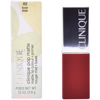 Belleza Mujer Pintalabios Clinique Pop Matte Lip Color + Primer 02-icon Pop 3,9 Gr 3,9 g