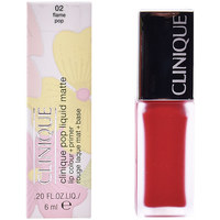 Belleza Mujer Pintalabios Clinique Pop Liquid Matte 02-flame Pop  6 ml