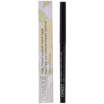 Belleza Mujer Lápiz de ojos Clinique High Impact Custom Black Kajal black 2,8 Gr 2,8 g