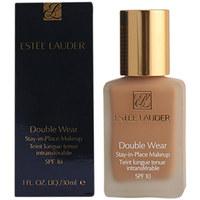 Belleza Mujer Base de maquillaje Estee Lauder Double Wear Fluid Spf10 02-pale Almond  30 ml