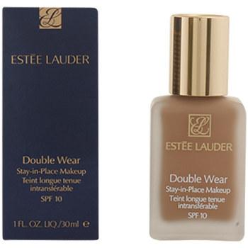 Belleza Mujer Base de maquillaje Estee Lauder Double Wear Fluid Spf10 04-pebble  30 ml