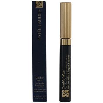 Belleza Mujer Máscaras de pestañas Estee Lauder Double Wear Zero Smudge Mascara 01-black  6 ml