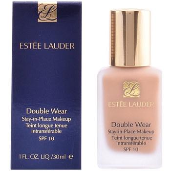 Belleza Mujer Base de maquillaje Estee Lauder Double Wear Fluid Spf10 10-ivory Beige  30 ml