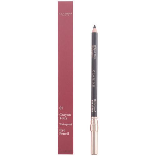 Belleza Mujer Lápiz de ojos Clarins Crayon Yeux Waterproof 01-noir 1,2 Gr 1,2 g