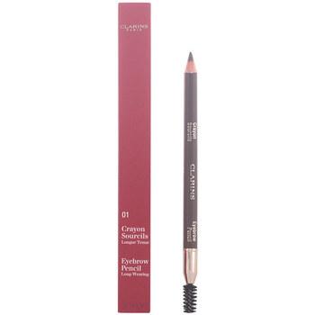 Belleza Mujer Perfiladores cejas Clarins Crayon Sourcils 01-dark Brown 1,3 Gr 1,3 g